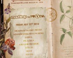 DEADMAU5 Y ERIC PRYDZ EN TOMORROWLAND 2016